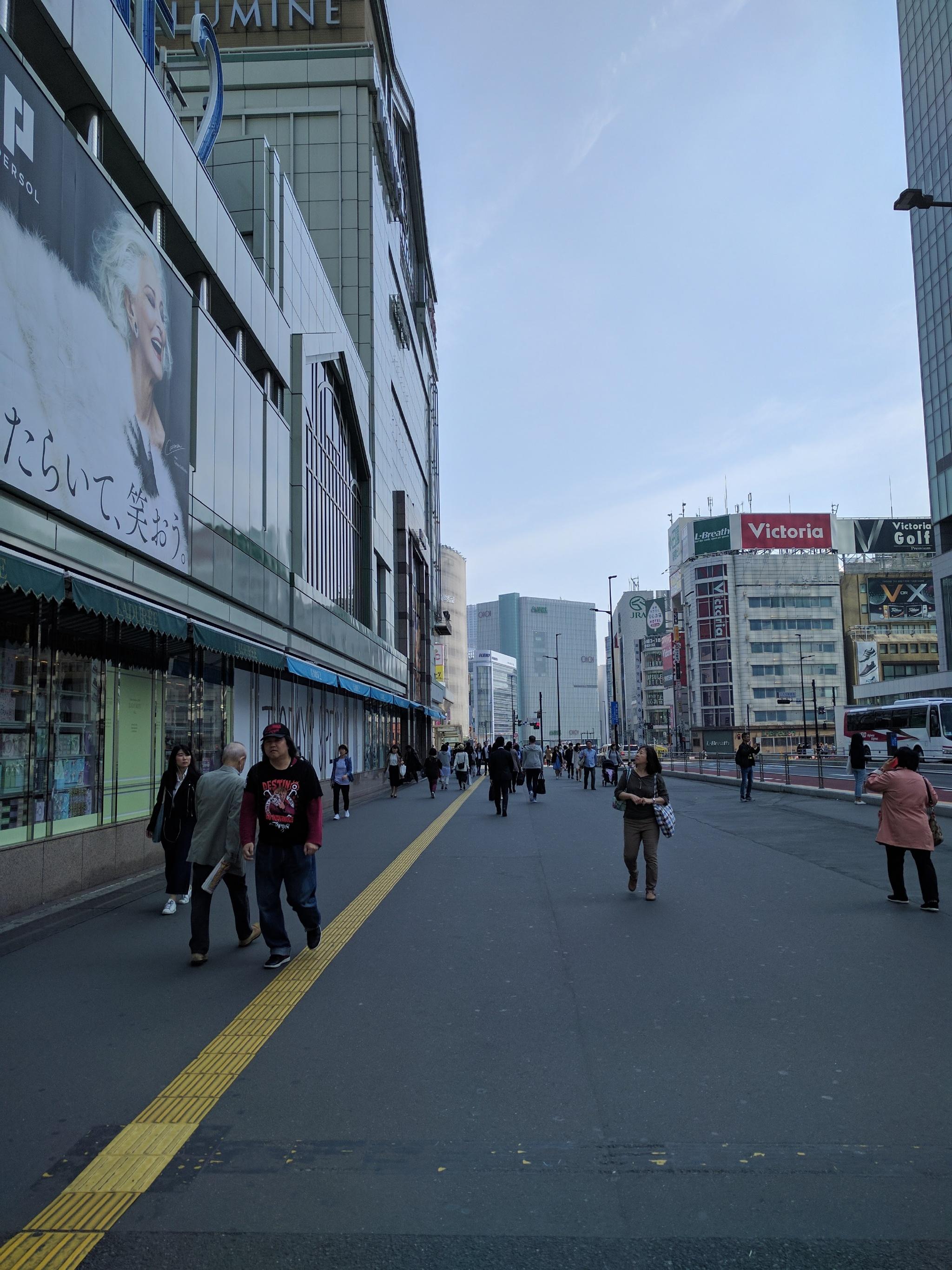 瀧去学校路上